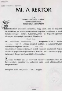 ELTE Diploma - 1